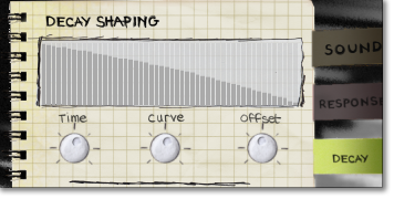 Custom decay shaping