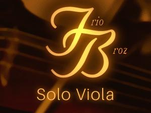 Trio Broz: Solo Viola