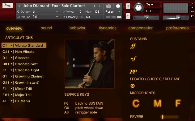 john diamanti fox solo clarinet fluffyaudio