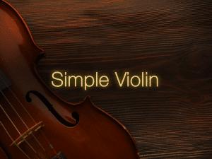 Simple Violin