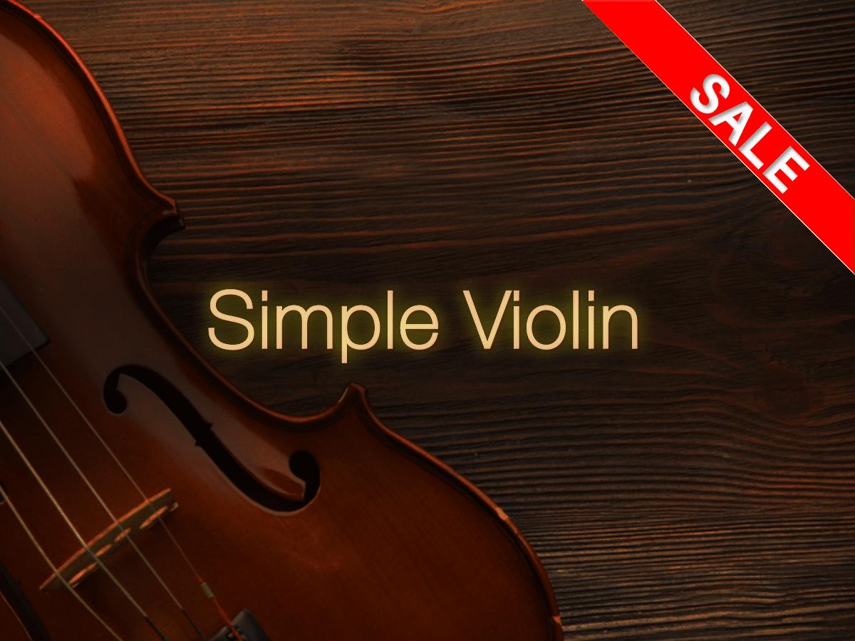 Simple Violin | FluffyAudio